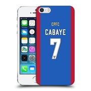Official Crystal Palace Fc 2016/17 Players Home Kit Yohan Cabaye Hard Back Case For Apple Iphone 5 / 5S / Se