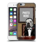 Custom Customised Personalised Pets Rock Custom Case Dog Father Hard Back Case For Apple Iphone 6 / 6S