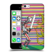 Official Ric Stultz Humanoid Robot Gathering Courage Hard Back Case For Apple Iphone 5C