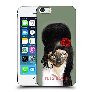 Official Pets Rock Musicians 2 Tattoo Hard Back Case For Apple Iphone 5 / 5S / Se