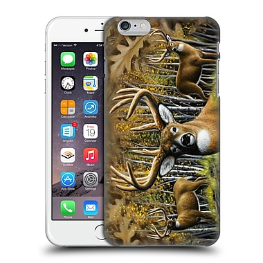 Official Chuck Black Deer Family Whitetail Country Hard Back Case For Apple Iphone 6 Plus / 6S Plus