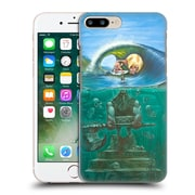 Official Rusty Sherrill Artworks Secret Surf Spot Of Death Hard Back Case For Apple Iphone 7 Plus