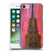 Official Darren White Fall Colours Flames On The Fence Master Hard Back Case For Apple Iphone 7