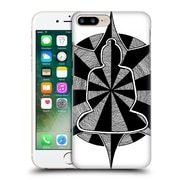 Official Peter Barreda Black And White Mandalas Dasharrah Hard Back Case For Apple Iphone 7 Plus