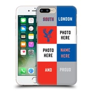 Custom Customised Personalised Crystal Palace Fc 2016/17 South London And Proud Hard Back Case For Apple Iphone 7 Plus