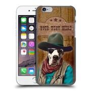 Custom Customised Personalised Pets Rock Custom Case Cowboy Hard Back Case For Apple Iphone 6 / 6S