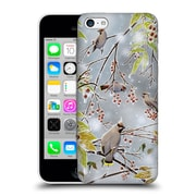 Official Chuck Black Bird Art Tropical Paradise Hard Back Case For Apple Iphone 5C