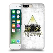 Official Def Leppard Design Triangle Concert Hard Back Case For Apple Iphone 7 Plus