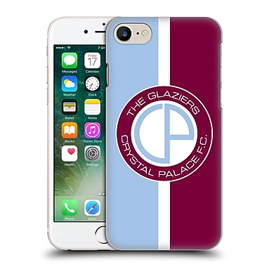 Official Crystal Palace Fc 2016/17 Retro Badge Glaziers Logo Hard Back Case For Apple Iphone 7