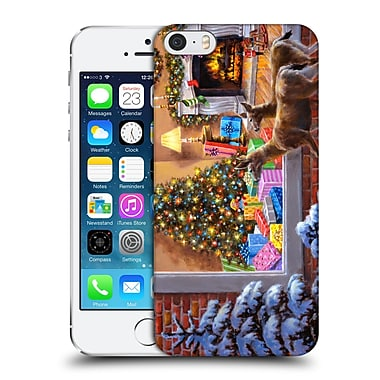 Official Christmas Mix Winter Wonderland Nicky Boehme You Better Be Good Hard Back Case For Apple Iphone 5 / 5S / Se