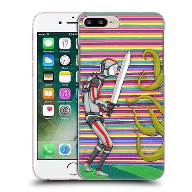 Official Ric Stultz Humanoid Robot Gathering Courage Hard Back Case For Apple Iphone 7 Plus