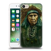 Official Joel Gratte Illustration Indian War Chief Hard Back Case For Apple Iphone 7