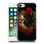 Official Christos Karapanos Horror Skeleton Moon Red Hard Back Case For Apple Iphone 7