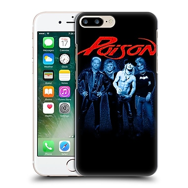 Official Poison Key Art Band Hard Back Case For Apple Iphone 7 Plus