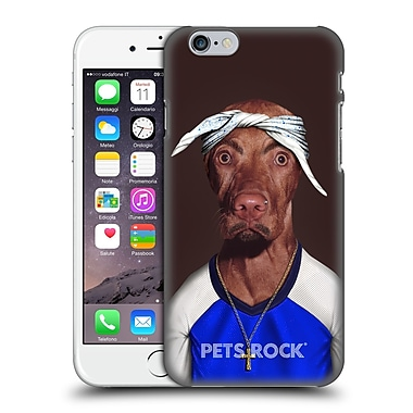 Official Pets Rock Musicians 2 Two Rap Hard Back Case For Apple Iphone 6 / 6S