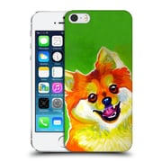 Official Dawgart Dogs 2 Pomeranian Tiger Hard Back Case For Apple Iphone 5 / 5S / Se