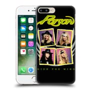 Official Poison Album Covers Ride The Wind Hard Back Case For Apple Iphone 7 Plus