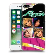 Official Poison Album Covers Look What The Cat Dragged In Hard Back Case For Apple Iphone 7 Plus
