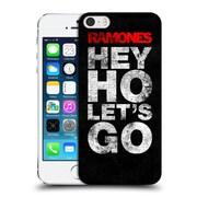 Official Ramones Key Art Hey Ho Let'S Go Hard Back Case For Apple Iphone 5 / 5S / Se