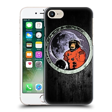 Official Nicklas Gustafsson Animals Space Monkeys Hard Back Case For Apple Iphone 7