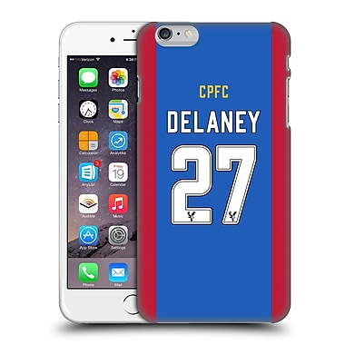 Official Crystal Palace Fc 2016/17 Players Home Kit Damien Delaney Hard Back Case For Apple Iphone 6 Plus / 6S Plus