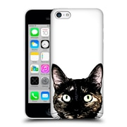 Official Nicklas Gustafsson Animals Peeking Cat Hard Back Case For Apple Iphone 5C