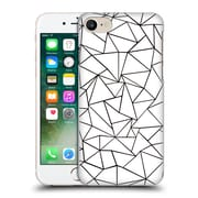 Official Project M Abstract Outline White Hard Back Case For Apple Iphone 7