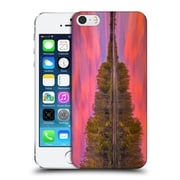 Official Darren White Fall Colours Flames On The Fence Master Hard Back Case For Apple Iphone 5 / 5S / Se