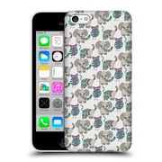 Official Pom Graphic Design Patterns Whimsical Animals Hard Back Case For Apple Iphone 5C
