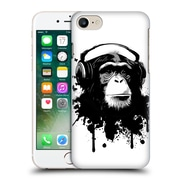 Official Nicklas Gustafsson Animals White Monkey Business Hard Back Case For Apple Iphone 7