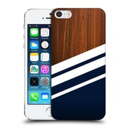 Official Nicklas Gustafsson Textures Wooden Navy Hard Back Case For Apple Iphone 5 / 5S / Se
