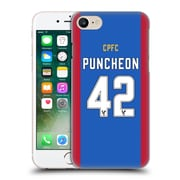 Official Crystal Palace Fc 2016/17 Players Home Kit Jason Puncheon Hard Back Case For Apple Iphone 7
