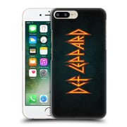 Official Def Leppard Logo Iconic Hard Back Case For Apple Iphone 7 Plus