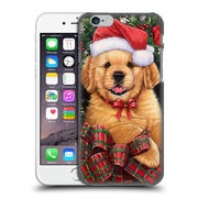 Official Christmas Mix Pets Jenny Newland Puppy Hard Back Case For Apple Iphone 6 / 6S