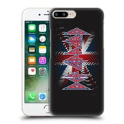 Official Def Leppard Logo Union Jack 2 Hard Back Case For Apple Iphone 7 Plus