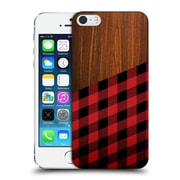 Official Nicklas Gustafsson Textures Wooden Lumberjack Hard Back Case For Apple Iphone 5 / 5S / Se