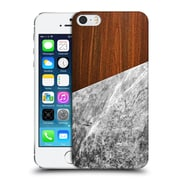 Official Nicklas Gustafsson Textures Wooden Marble Hard Back Case For Apple Iphone 5 / 5S / Se