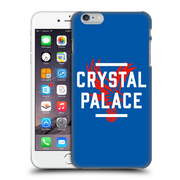 Official Crystal Palace Fc The Eagles Royal Blue Palace Hard Back Case For Apple Iphone 6 Plus / 6S Plus
