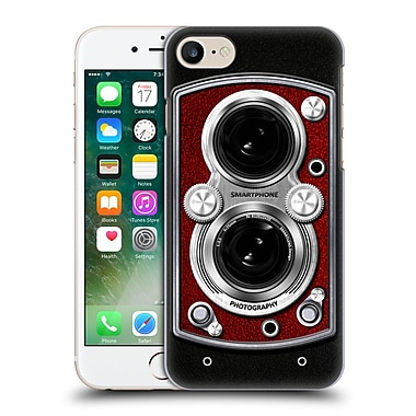 Official Nicklas Gustafsson Retro Vintage Vintage Camera Red Hard Back Case For Apple Iphone 7