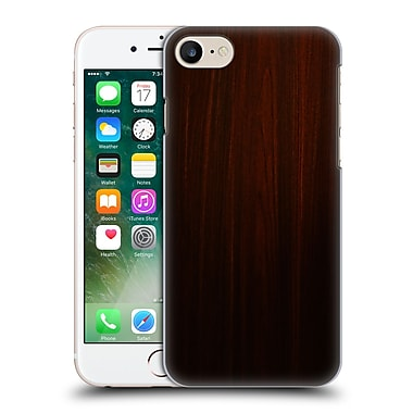 Official Nicklas Gustafsson Textures Dark Wood Hard Back Case For Apple Iphone 7