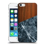 Official Nicklas Gustafsson Textures Wooden Marble Dark Hard Back Case For Apple Iphone 5 / 5S / Se