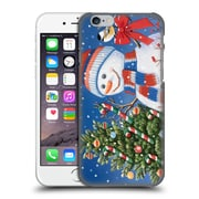 Official Christmas Mix Snowman William Vanderdasson Decorating Tree Hard Back Case For Apple Iphone 6 / 6S