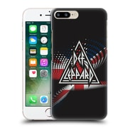 Official Def Leppard Logo Union Jack Hard Back Case For Apple Iphone 7 Plus