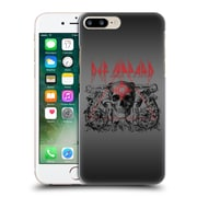 Official Def Leppard Design Skull Target Hard Back Case For Apple Iphone 7 Plus