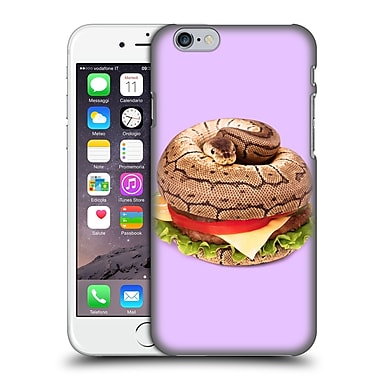 Official Paul Fuentes Junk Food Hamburger Snake Hard Back Case For Apple Iphone 6 / 6S
