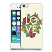 Official Rachel Caldwell Love And Peace Floral Hard Back Case For Apple Iphone 5 / 5S / Se