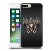 Official Def Leppard Design Skull 1 Hard Back Case For Apple Iphone 7 Plus