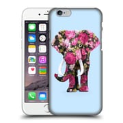 Official Paul Fuentes Animals 2 Floral Elephant Hard Back Case For Apple Iphone 6 / 6S