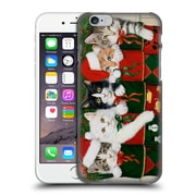Official Christmas Mix Pets William Vanderdasson Kittens Hard Back Case For Apple Iphone 6 / 6S