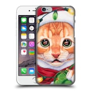 Official Christmas Mix Pets Jenny Newland Uh Oh! Santa! Hard Back Case For Apple Iphone 6 / 6S